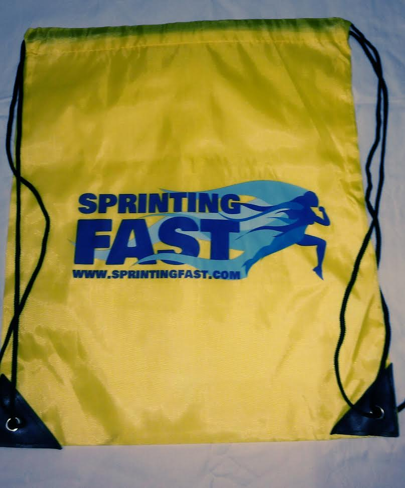 Sprinting Fast Spikes/Shoe Bag.