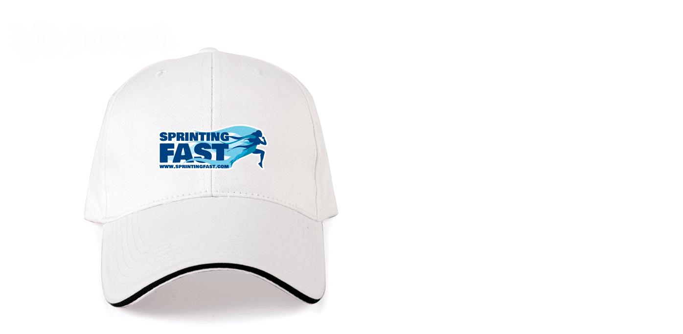 Sprinting Fast Cap.