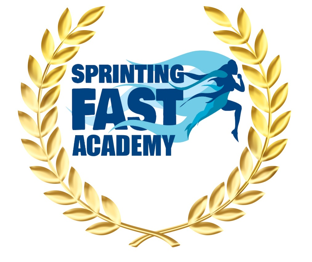 Sprinting Fast Academy Logo 3 (Non Outline Academy)
